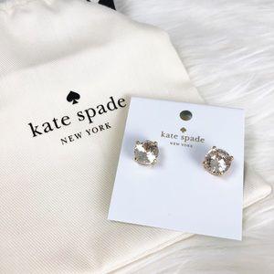 NWT Kate Spade everyday diamond studs